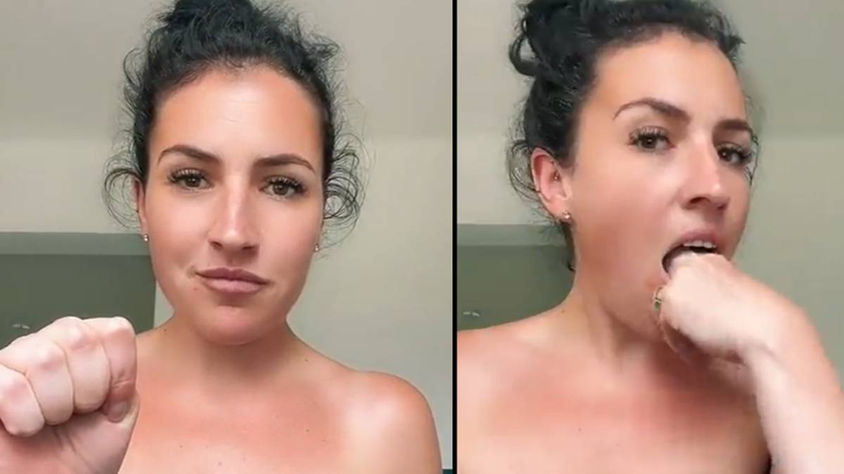 Mum shares incredibly simple technique that gets rid of gag reflexes